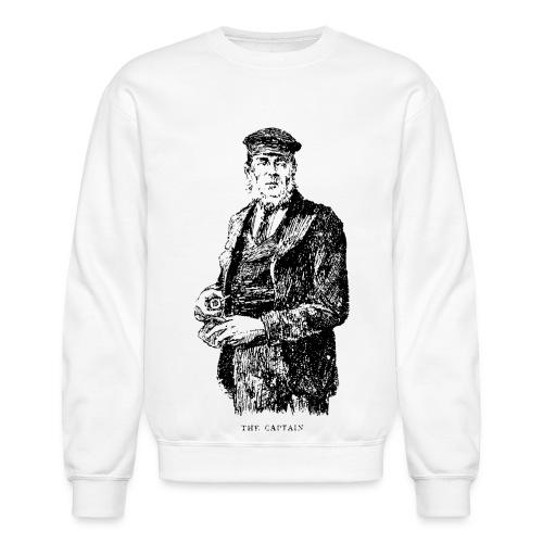 the captain - Unisex Crewneck Sweatshirt