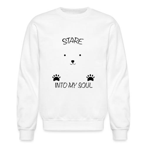 Polar Bear Stare - Crewneck Sweatshirt