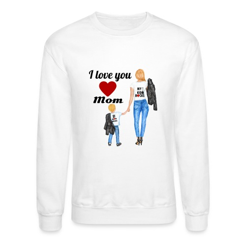 Mother's day gift from daughter, Mother's Day Gift - Unisex Crewneck Sweatshirt
