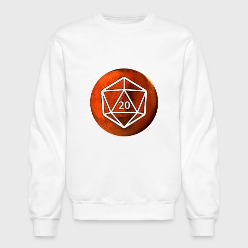 Mars d20 Astronomy Space - Unisex Crewneck Sweatshirt