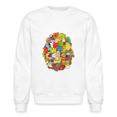 Doodle for a poodle - Crewneck Sweatshirt