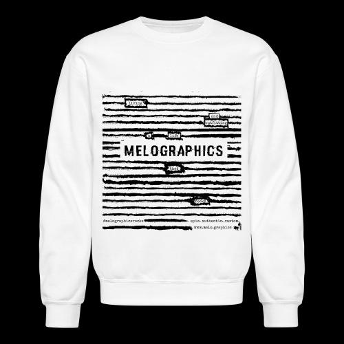 MELOGRAPHICS | Blackout Poem - Crewneck Sweatshirt