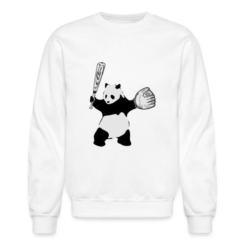 Panda Baseball - Unisex Crewneck Sweatshirt