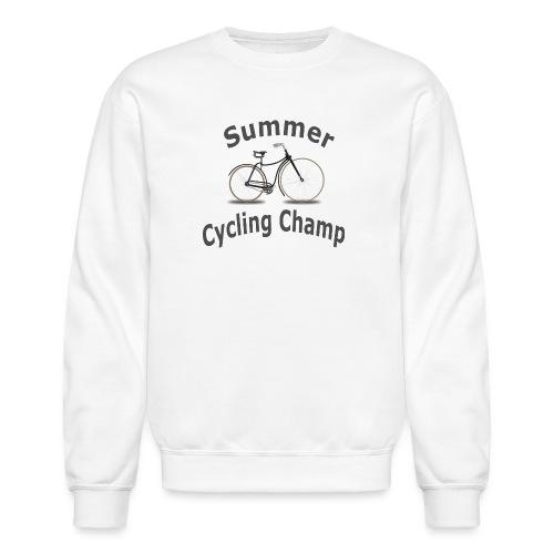 Summer Cycling Champ - Crewneck Sweatshirt