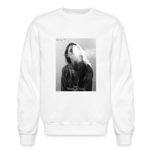 Cr0ss Smoke drop - Unisex Crewneck Sweatshirt