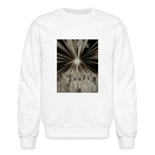 Black_and_White_Vision2 - Crewneck Sweatshirt
