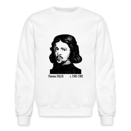 Thomas Tallis Portrait - Crewneck Sweatshirt