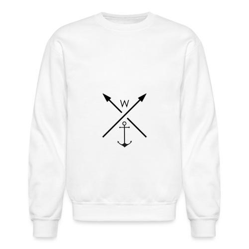 anchor - Unisex Crewneck Sweatshirt