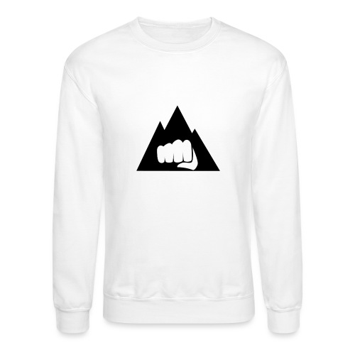 The Mountain Logo T-Shirt (L) Men's Fruit of the L - Crewneck Sweatshirt