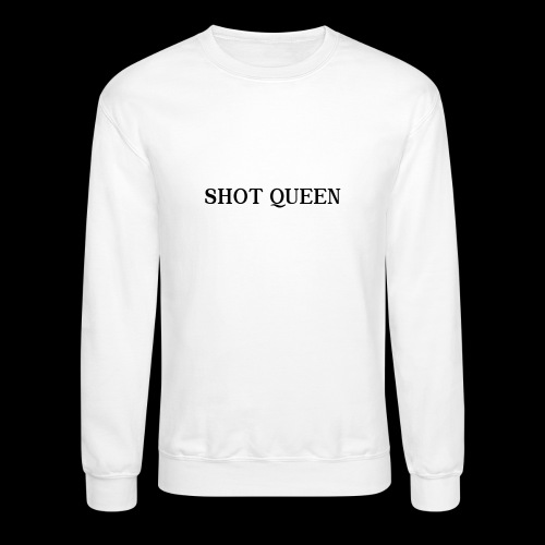 Shot Queen logo - Crewneck Sweatshirt