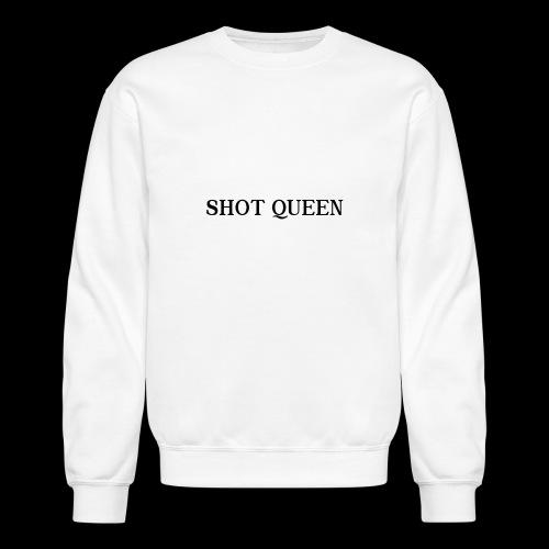 Shot Queen logo - Crewneck Sweatshirt