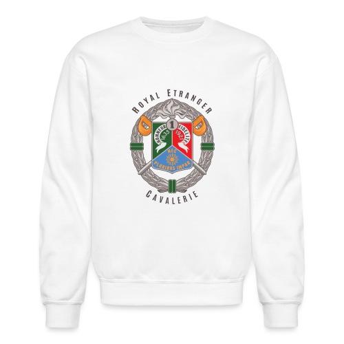 1er REC - 1 REC - Legion - Badge - Dark - Crewneck Sweatshirt