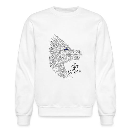 Blue eye dragon - Crewneck Sweatshirt