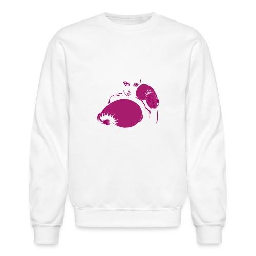 FIF Woman's T-Shirt (Magenta) - Unisex Crewneck Sweatshirt