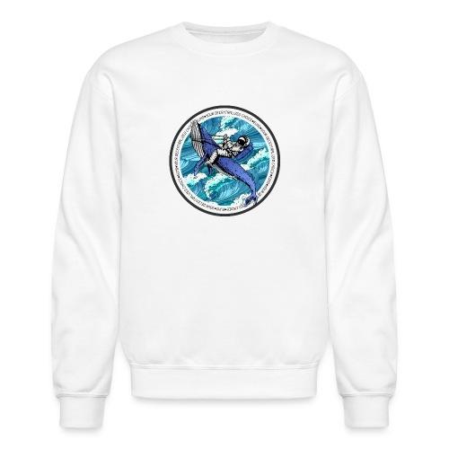 Astronaut Whale - Crewneck Sweatshirt
