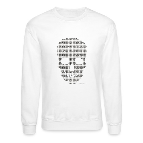 Hacker binary - Mens - Crewneck Sweatshirt