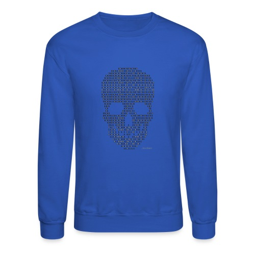 Hacker binary - Mens - Unisex Crewneck Sweatshirt