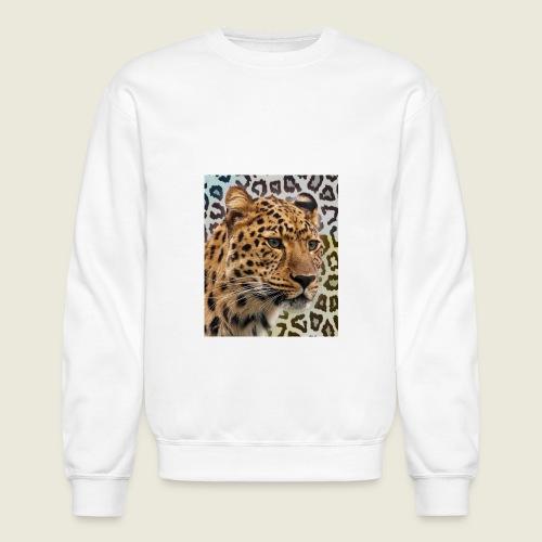 Leopard Print Love - Crewneck Sweatshirt