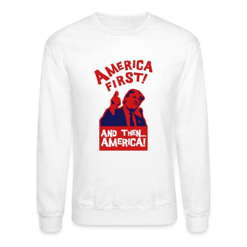 AMERICA FIRST - Crewneck Sweatshirt