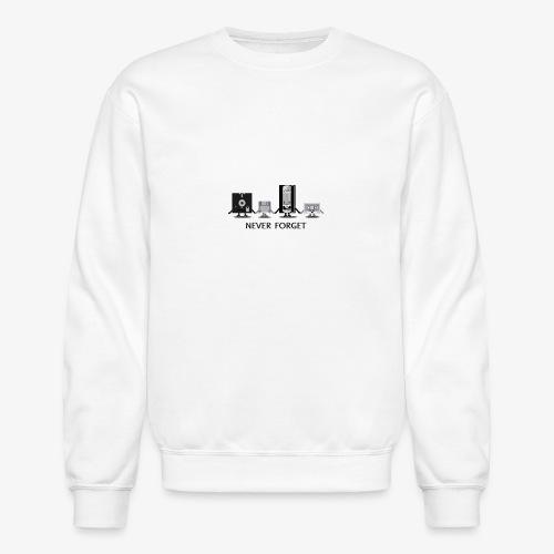 Never forget - Unisex Crewneck Sweatshirt