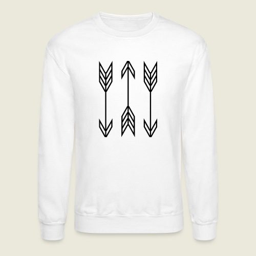 arrow symbols - Crewneck Sweatshirt