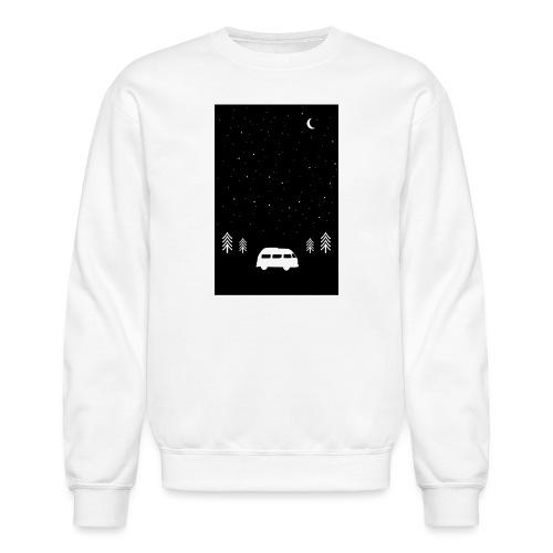 Van Life Through The Night // Augmented Reality AR - Unisex Crewneck Sweatshirt