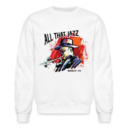 jazz music live club - Unisex Crewneck Sweatshirt