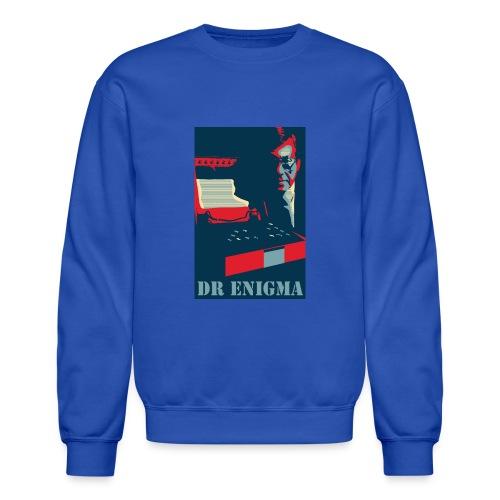 Dr Enigma+Enigma Machine - Unisex Crewneck Sweatshirt