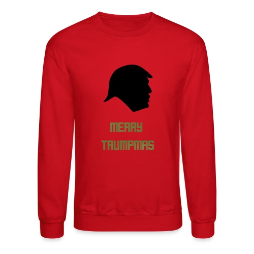 Merry Trumpmas Green - Crewneck Sweatshirt