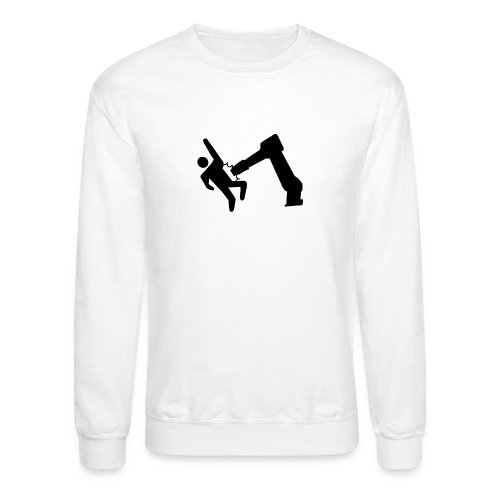 Robot Wins! - Crewneck Sweatshirt