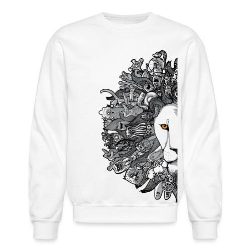 halflion png - Crewneck Sweatshirt