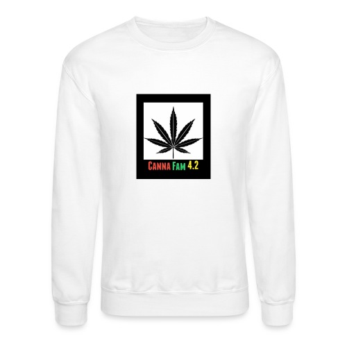 Canna Fams #2 design - Unisex Crewneck Sweatshirt
