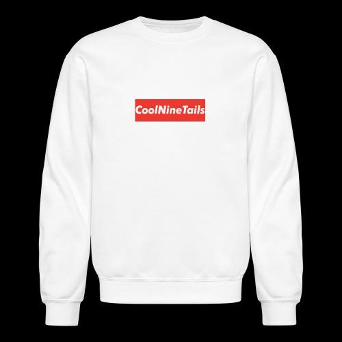 CoolNineTails supreme logo - Crewneck Sweatshirt