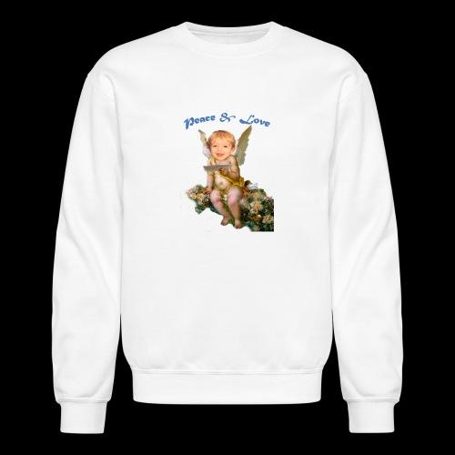 Peace and Love - Crewneck Sweatshirt