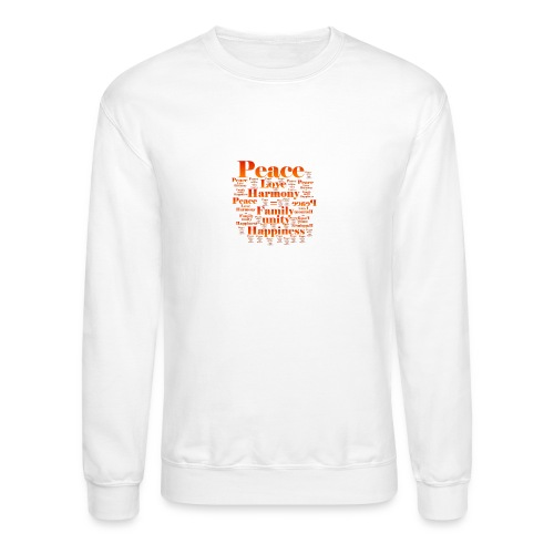 PEACE LOVE HARMONY - Crewneck Sweatshirt
