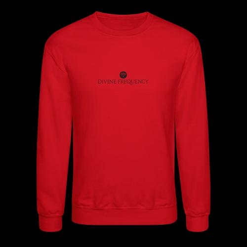 Black Divine Frequency - Unisex Crewneck Sweatshirt