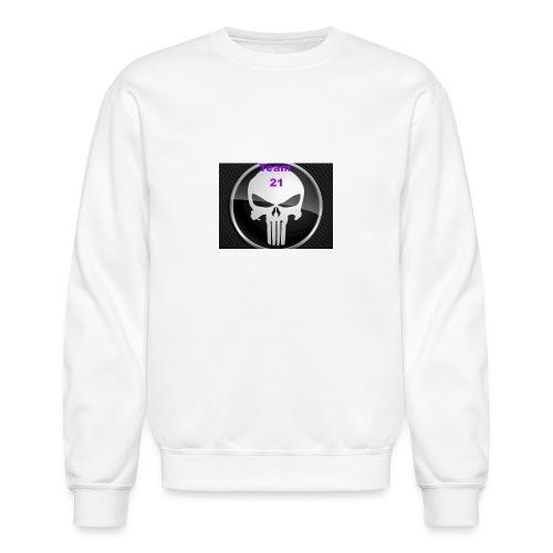 Team 21 white - Unisex Crewneck Sweatshirt