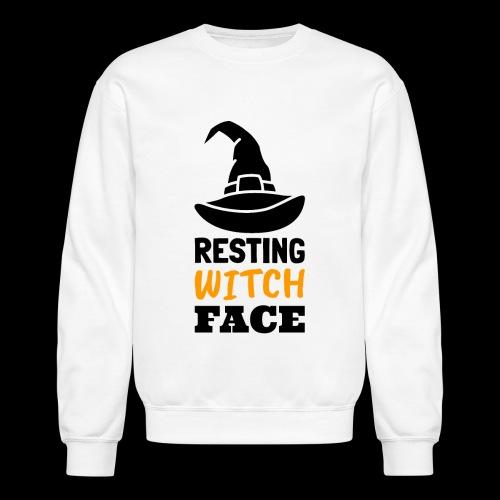 Resting Witch Face | Funny Halloween - Crewneck Sweatshirt