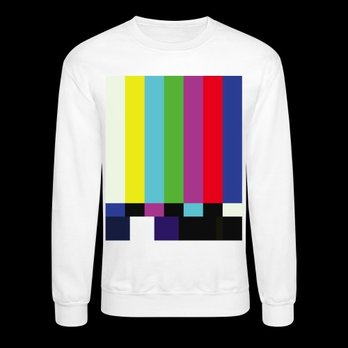 This is a TV Test | Retro Television Broadcast - Crewneck Sweatshirt