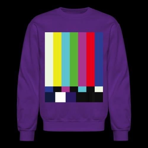 This is a TV Test | Retro Television Broadcast - Crewneck Sweatshirt