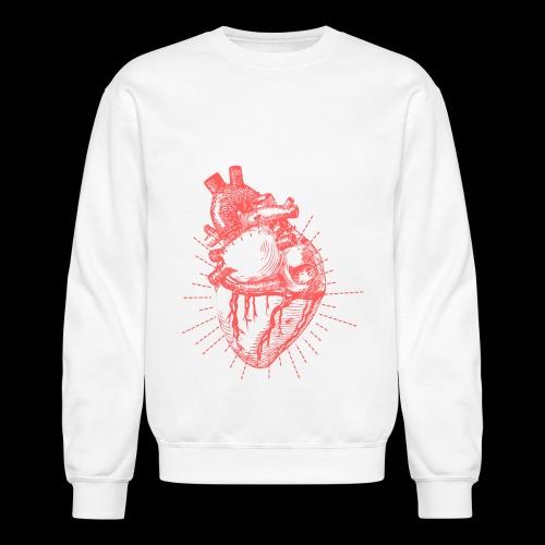 Hand Sketched Heart - Crewneck Sweatshirt
