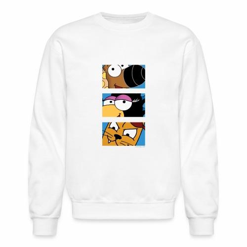 Rantdog Trio - Crewneck Sweatshirt
