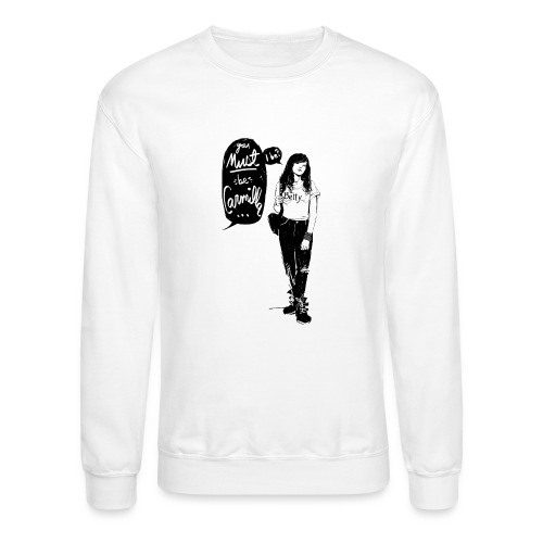 Valentine M. Smith x Carmilla - Unisex Crewneck Sweatshirt