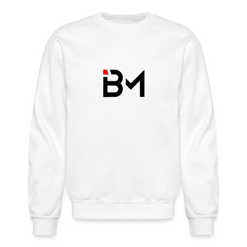 bench mob logo no lettering (black) - Unisex Crewneck Sweatshirt