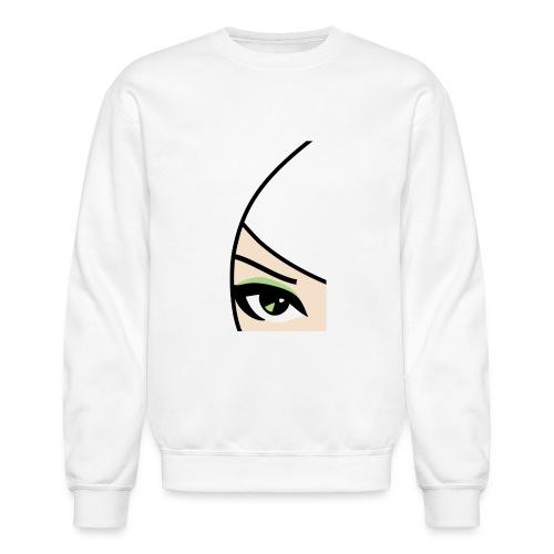Banzai Chicks Single Eye Women's T-shirt - Unisex Crewneck Sweatshirt