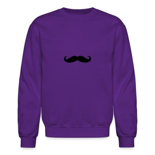 mustache - Unisex Crewneck Sweatshirt