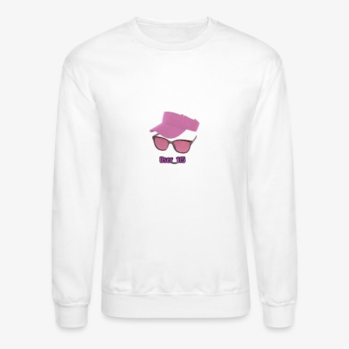 Glasses And Hat - Crewneck Sweatshirt