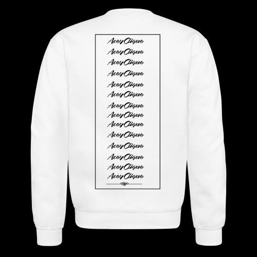AceyClique rewrite series Back - Crewneck Sweatshirt