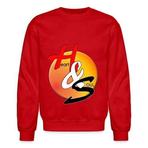 Rcahas logo gold - Unisex Crewneck Sweatshirt