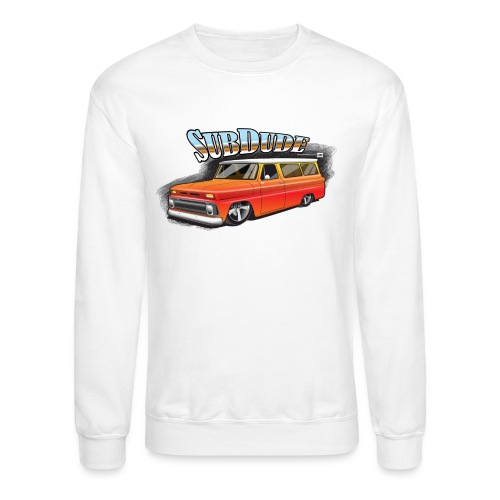 SubDudeOrange - Unisex Crewneck Sweatshirt